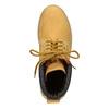 Skórzane obuwie za kostkę weinbrenner, żółty, 896-8669 - 15