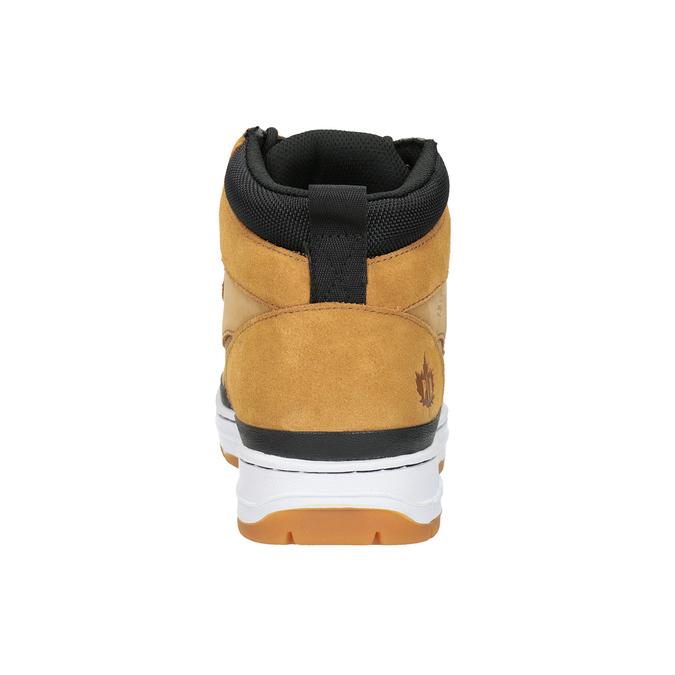 Męskie buty za kostkę k1x, brązowy, 806-3552 - 16