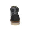 Skórzane buty męskie za kostkę bata, szary, 896-2669 - 16