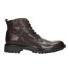 Skórzane obuwie za kostkę bata, brązowy, 894-4694 - 26
