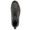 Skórzane buty zniebieskimi detalami bata, szary, 896-2679 - 26