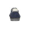 Nieformalne zamszowe półbuty bata, niebieski, 853-9612 - 16
