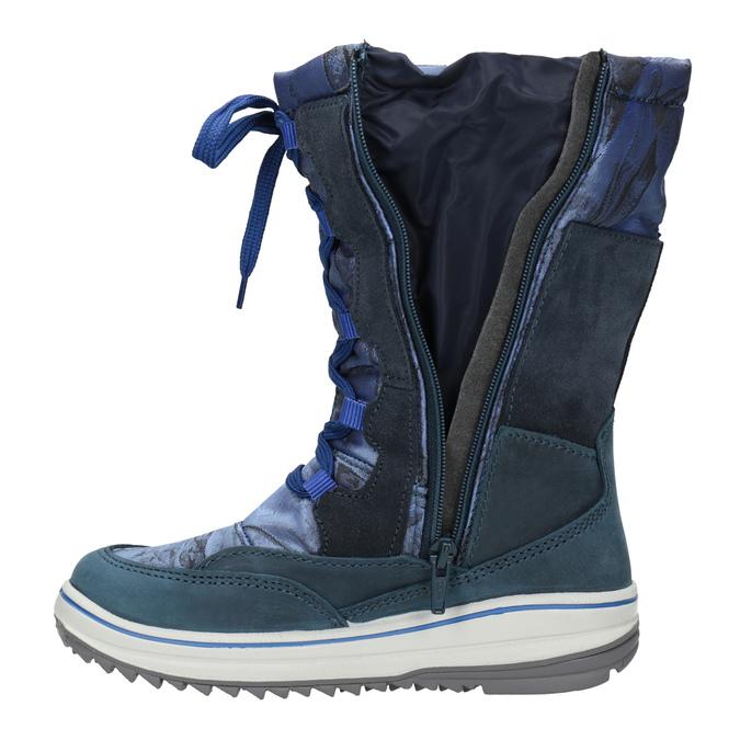 Śniegowce dziecięce weinbrenner-junior, niebieski, 393-9607 - 17