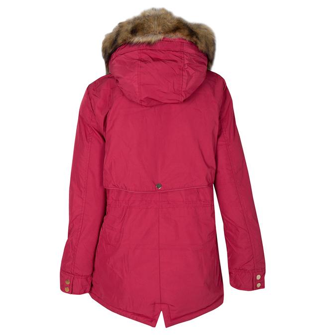 Czerwona kurtka damska zkapturem bata, czerwony, 979-5177 - 26