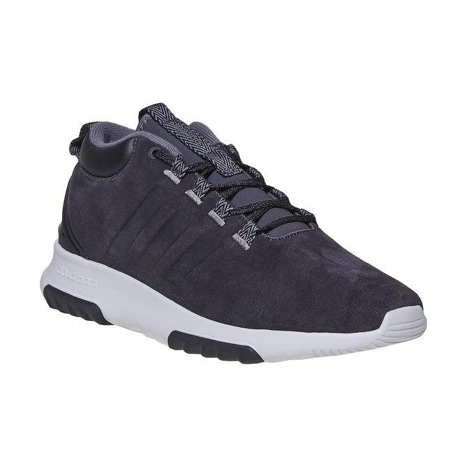 Skórzane trampki męskie adidas, czarny, 803-6202 - 13