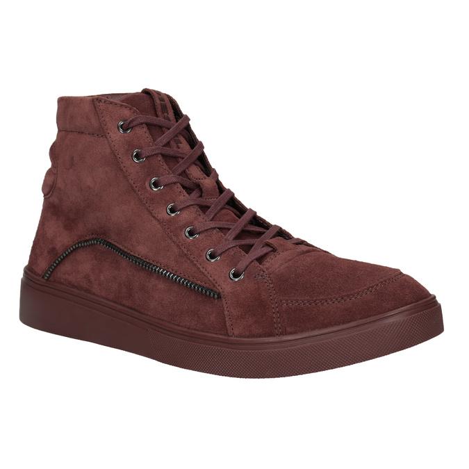 Męskie buty za kostkę diesel, czerwony, 803-5629 - 13