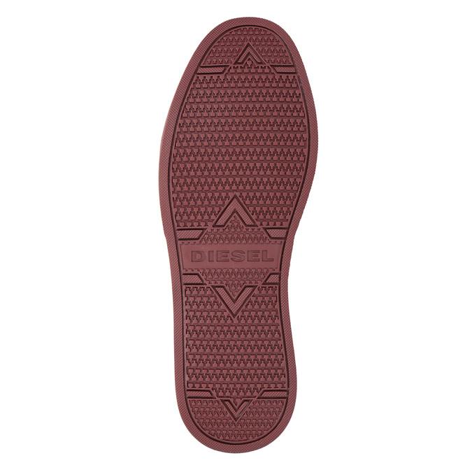 Męskie buty za kostkę diesel, czerwony, 803-5629 - 17