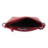 Czerwona skórzana torebka typu crossbody picard, czerwony, 964-5094 - 15