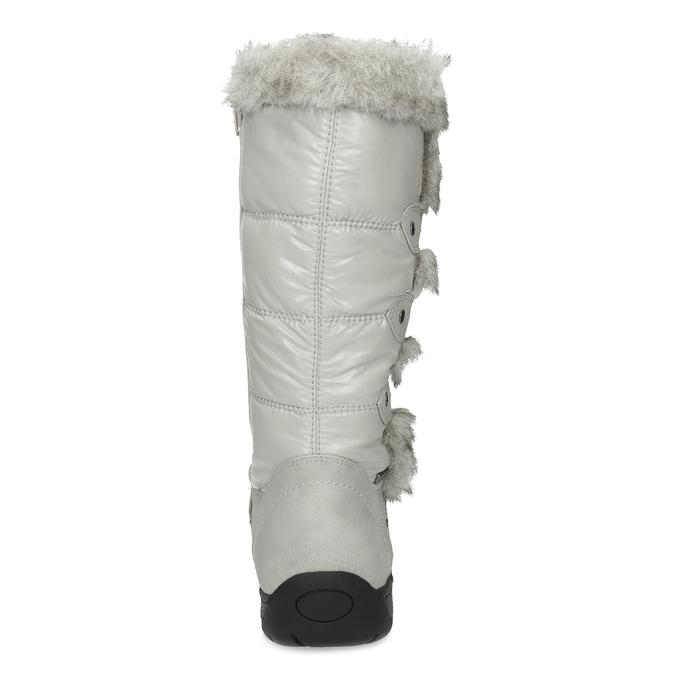 Zimowe śniegowce zfuterkiem bata, szary, 599-8618 - 15