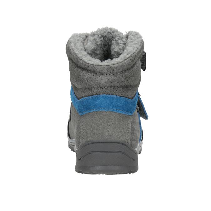 Zimowe buty dziecięce mini-b, szary, 291-2627 - 16