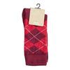 Skarpetki męskie wangielski wzór bata, czerwony, 919-5300 - 13