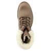 Zimowe buty damskie ze skóry weinbrenner, brązowy, 696-4336 - 26