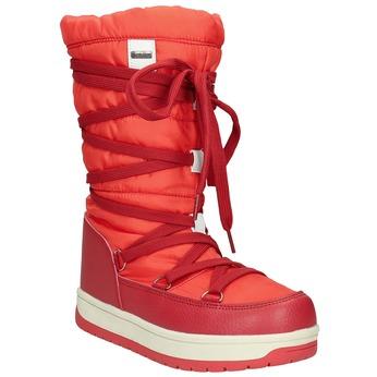 Czerwone śniegowce damskie bata, czerwony, 599-5616 - 13