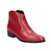 Czerwone botki bata, czerwony, 594-5665 - 13