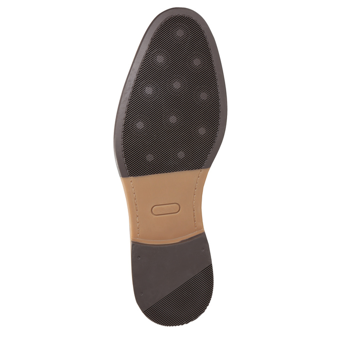 Skórzane buty męskie za kostkę bata, brązowy, 826-3926 - 17