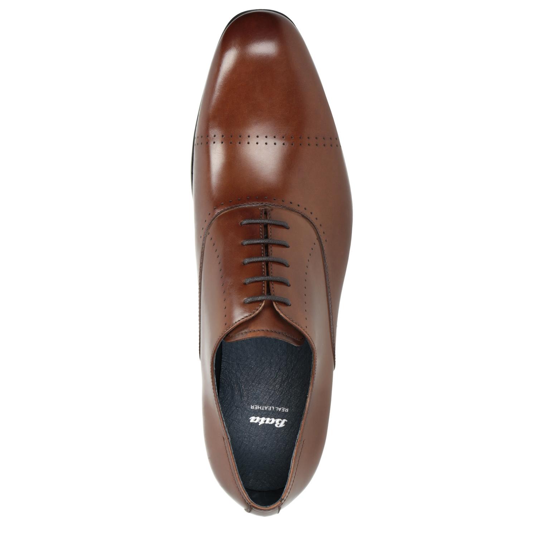 f8e72ca0 ... Brązowe skórzane półbuty typu oksfordy bata, brązowy, 826-3852 - 15 ...