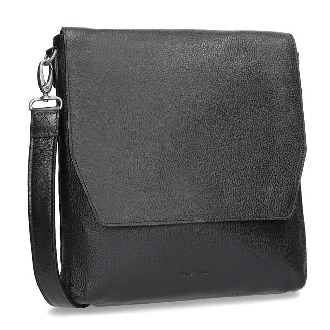Skórzana torba typu crossbody royal-republiq, czarny, 964-6093 - 13