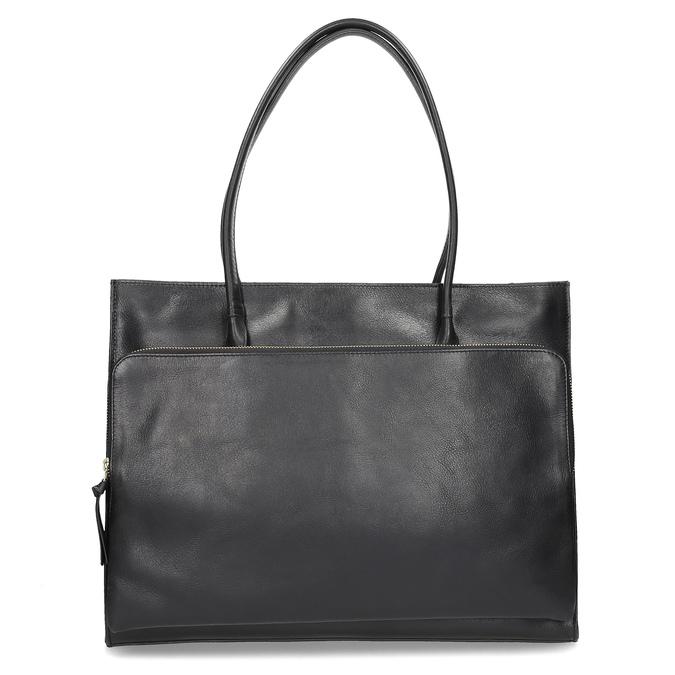 Skórzana torebka damska royal-republiq, czarny, 964-6066 - 16