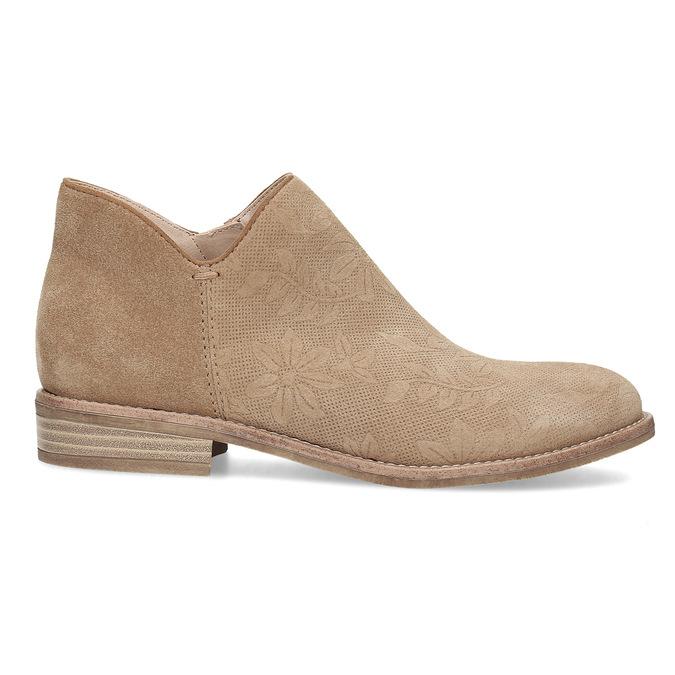 Skórzane botki bata, brązowy, 596-3685 - 19