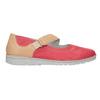 Skórzane baleriny zpaskami bata, czerwony, 526-5651 - 26
