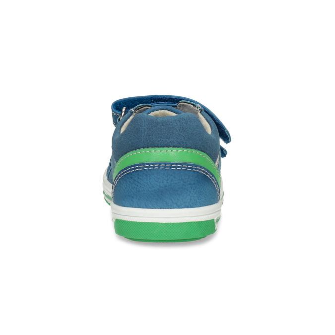 Niebieskie nieformalne trampki dziecięce bubblegummer, 111-9625 - 15