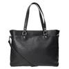 Pikowana torebka bata, czarny, 961-6824 - 16