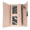 Różowy portfel damski zprzeszyciami bata, 941-9169 - 15