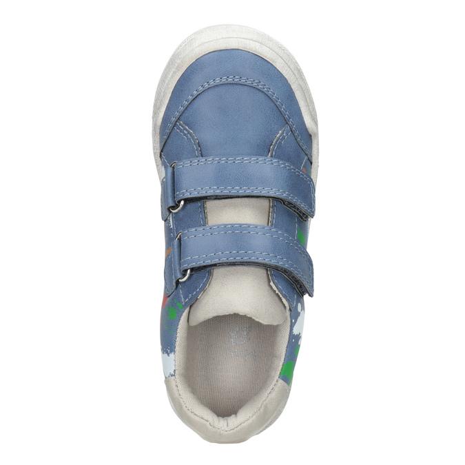 Niebieskie trampki znadrukiem mini-b, 211-9218 - 15