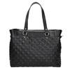Pikowana torebka bata, czarny, 961-6824 - 26