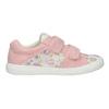 Różowe trampki dziewczęce wdeseń mini-b, 221-5215 - 26