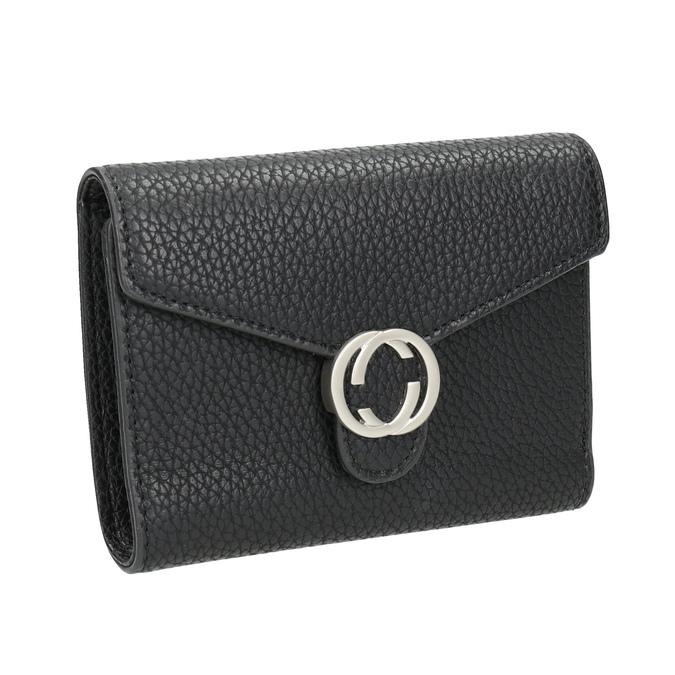 Czarny portfel damski bata, czarny, 941-6213 - 13