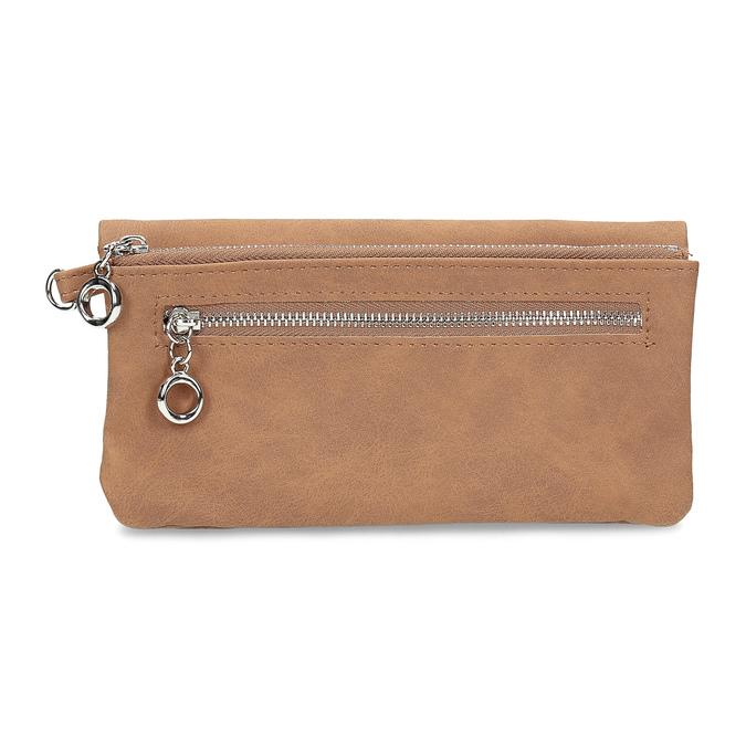 Brązowy portfel damski bata, 941-4215 - 16