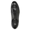 Półbuty męskie wykonane wcałości ze skóry bata, czarny, 824-6733 - 17