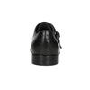Czarne skórzane monki bata, czarny, 824-6730 - 15