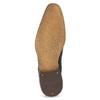 Granatowe skórzane półbuty zfakturą bata, niebieski, 826-9825 - 18