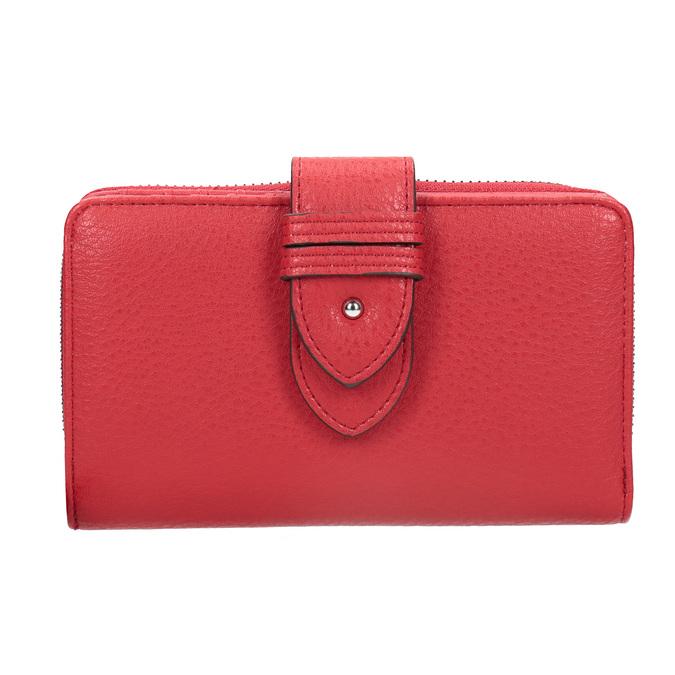 Czerwony portfel damski bata, czerwony, 941-5160 - 26