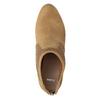 Brązowe botki damskie na obcasach bata, brązowy, 791-3615 - 15