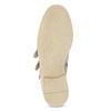 Skórzane kozaki zklamrami bata, różowy, 596-5691 - 18