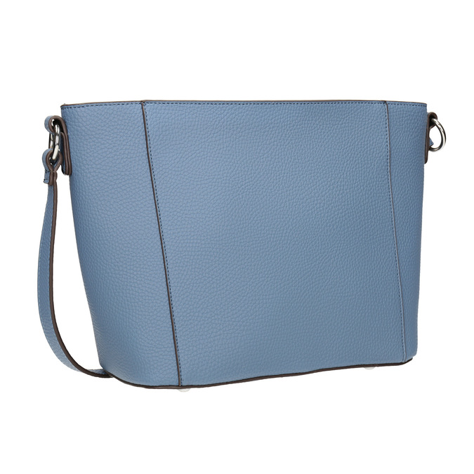 Granatowa torebka damska typu crossbody bata, niebieski, 961-9842 - 13