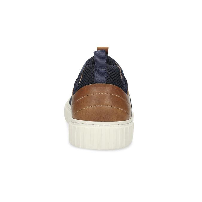 Nieformalne skórzane trampki bata, 843-9637 - 15