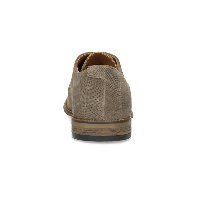 Angielki męskie zperforacją bata, brązowy, 823-8616 - 15