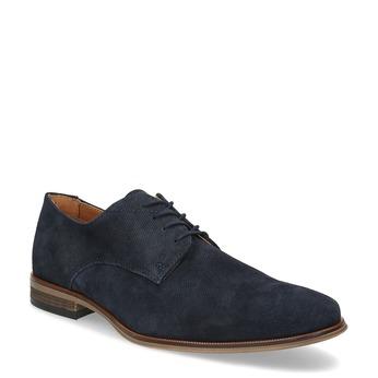 Niebieskie półbuty męskie bata, niebieski, 823-9616 - 13