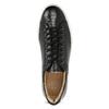 Skórzane trampki męskie bata, czarny, 844-6648 - 17