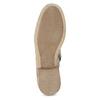 Skórzane botki zperforacją bata, szary, 596-2689 - 18