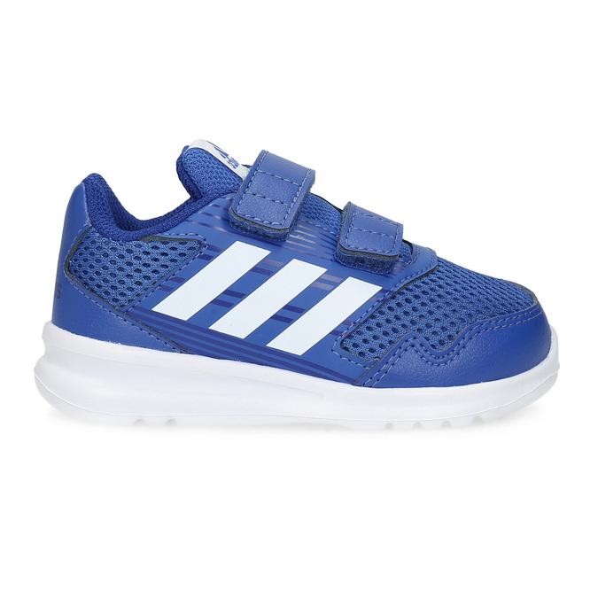 Niebieskie trampki dziecięce adidas, niebieski, 109-9147 - 19