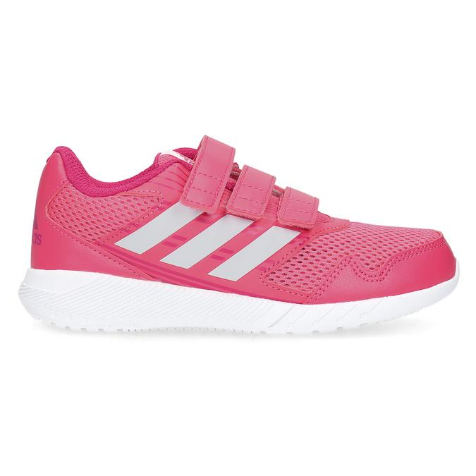 Różowe trampki na rzepy adidas, różowy, 309-5148 - 19