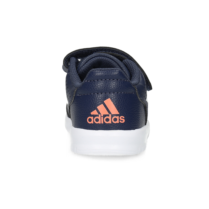Granatowe trampki na rzepy adidas, niebieski, 101-9151 - 15