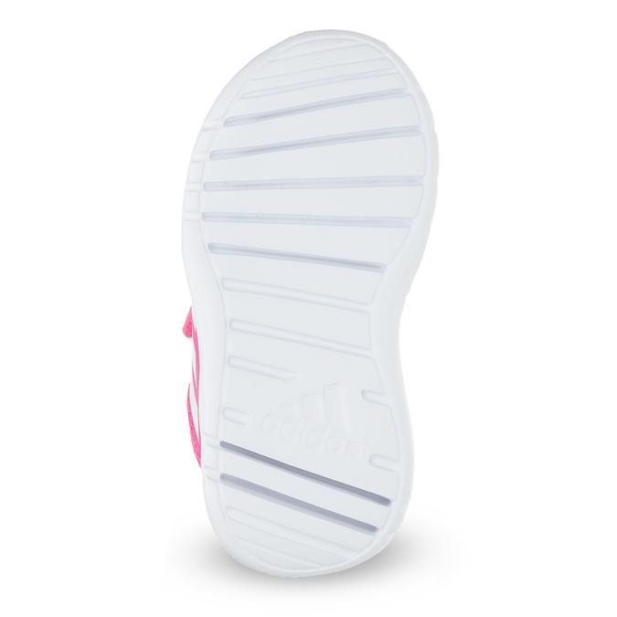 Różowe trampki dziecięce adidas, różowy, 109-5147 - 18