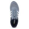 Zamszowe trampki męskie adidas, niebieski, 803-2293 - 17