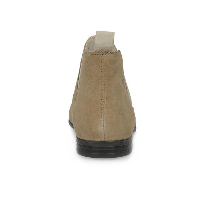 Skórzane botki typu chelsea vagabond, brązowy, 513-4098 - 15